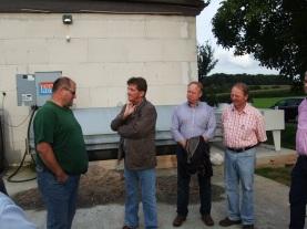 Besichtigung Biogasanlage 4