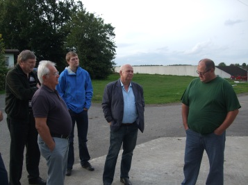 Besichtigung Biogasanlage 5