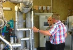 Besichtigung Biogasanlage 1