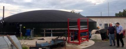 Besichtigung Biogasanlage 3