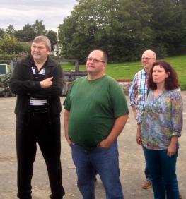 Besichtigung Biogasanlage 12
