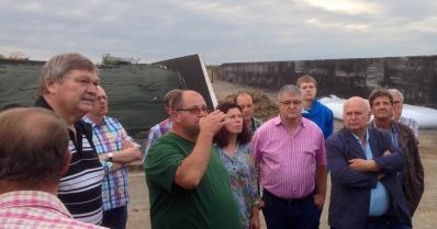 Besichtigung Biogasanlage 14