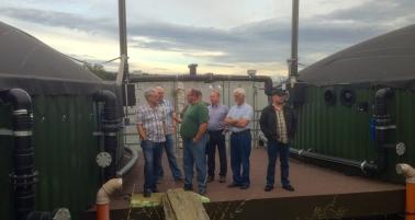 Besichtigung Biogasanlage 16
