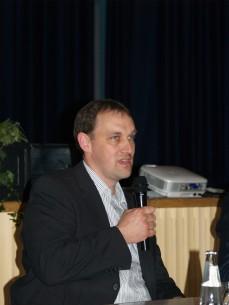 Herr Wolfgang Ruch (Geschäftsführer der Windkraft Eichberg GmbH; Betreiber des Bürger - Windparks Schenklengsfeld)