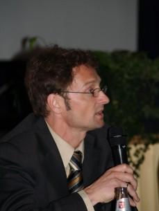 Herr Wulf Hahn (Referent des NABU Hessen für Verkehr und Energiefragen)