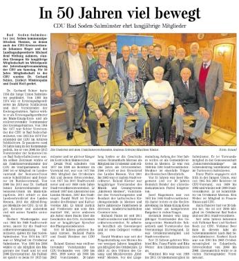 Bericht zu den Mitgliederehrungen am 11.11.2014 in der GNZ